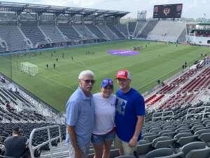 David Fuqua attended Capital Cup: DC United International Doubleheader (day 2 of 3) on Jul 11th 2021 via VetTix