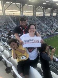 Ian attended Capital Cup: DC United International Doubleheader (day 2 of 3) on Jul 11th 2021 via VetTix