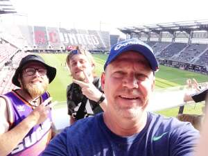 Bob attended Capital Cup: DC United International Doubleheader (day 2 of 3) on Jul 11th 2021 via VetTix