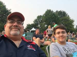 Chief Fowler attended An Evening With Chicago and Their Greatest Hits on Jul 20th 2021 via VetTix