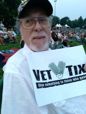 Walter Roanski attended An Evening With Chicago and Their Greatest Hits on Jul 20th 2021 via VetTix