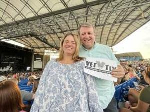Chris R attended Brad Paisley Tour 2021 on Jul 9th 2021 via VetTix