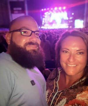 Vince R.  attended Brad Paisley Tour 2021 on Jul 9th 2021 via VetTix