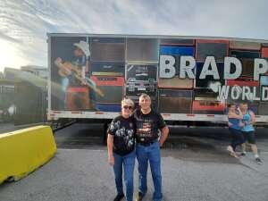 Gary attended Brad Paisley Tour 2021 on Jul 9th 2021 via VetTix