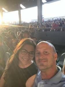 Damian  attended Lindsey Stirling - Artemis Tour North America 2021 on Jul 23rd 2021 via VetTix