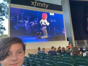 Alisha attended Lindsey Stirling - Artemis Tour North America 2021 on Jul 24th 2021 via VetTix