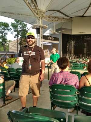 Kristoffer attended Lindsey Stirling - Artemis Tour North America 2021 on Jul 24th 2021 via VetTix