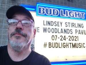 Michael attended Lindsey Stirling - Artemis Tour North America 2021 on Jul 24th 2021 via VetTix