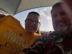 Terry Hood attended Lindsey Stirling - Artemis Tour North America 2021 on Jul 24th 2021 via VetTix
