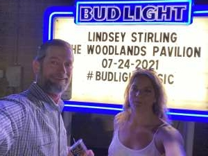 Rich attended Lindsey Stirling - Artemis Tour North America 2021 on Jul 24th 2021 via VetTix