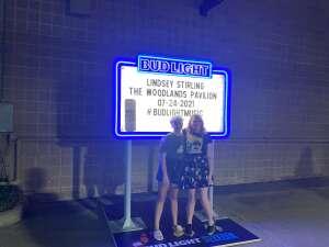 Chris attended Lindsey Stirling - Artemis Tour North America 2021 on Jul 24th 2021 via VetTix
