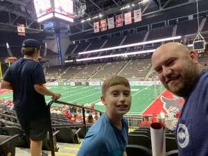Kevin Taylor attended Jacksonville Sharks vs. Carolina Cobras - National Arena League - Military Appreciation Game on Jul 24th 2021 via VetTix
