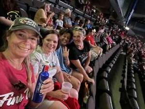 JC attended Jacksonville Sharks vs. Carolina Cobras - National Arena League - Military Appreciation Game on Jul 24th 2021 via VetTix