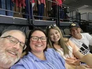 L.Pearlman  attended Jacksonville Sharks vs. Carolina Cobras - National Arena League - Military Appreciation Game on Jul 24th 2021 via VetTix