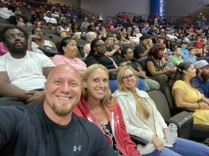 Apollo Pedersen attended Jacksonville Sharks vs. Carolina Cobras - National Arena League - Military Appreciation Game on Jul 24th 2021 via VetTix