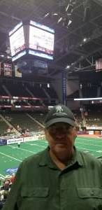 Jeff attended Jacksonville Sharks vs. Carolina Cobras - National Arena League - Military Appreciation Game on Jul 24th 2021 via VetTix