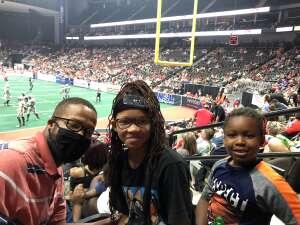 Nate  attended Jacksonville Sharks vs. Carolina Cobras - National Arena League - Military Appreciation Game on Jul 24th 2021 via VetTix