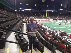 Frank attended Jacksonville Sharks vs. Carolina Cobras - National Arena League - Military Appreciation Game on Jul 24th 2021 via VetTix