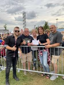 Buffard attended Warrant on Jul 30th 2021 via VetTix