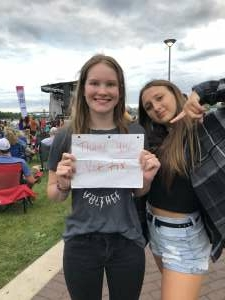 Sarah attended Collective Soul on Jul 9th 2021 via VetTix