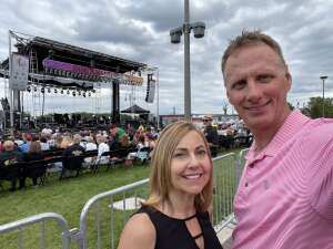 Chris Abston attended Collective Soul on Jul 9th 2021 via VetTix