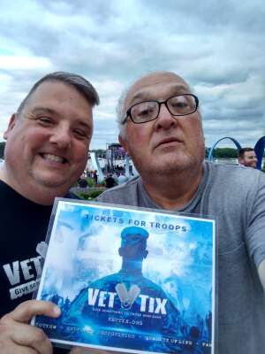 Todd attended Collective Soul on Jul 9th 2021 via VetTix