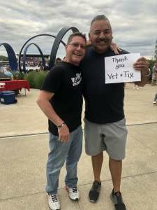 SFC (ret) Ray Rodriguez  attended Collective Soul on Jul 9th 2021 via VetTix