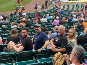 Mike Anderson attended Jersey Shore Blueclaws vs. Wilmington Blue Rocks - MiLB ** Military Appreciation Night ** on Jul 8th 2021 via VetTix