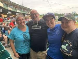 Dave attended Jersey Shore Blueclaws vs. Wilmington Blue Rocks - MiLB ** Military Appreciation Night ** on Jul 8th 2021 via VetTix