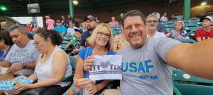 Walt attended Jersey Shore Blueclaws vs. Wilmington Blue Rocks - MiLB ** Military Appreciation Night ** on Jul 8th 2021 via VetTix