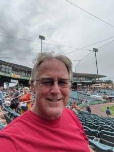 Scott B attended Jersey Shore Blueclaws vs. Wilmington Blue Rocks - MiLB ** Military Appreciation Night ** on Jul 8th 2021 via VetTix