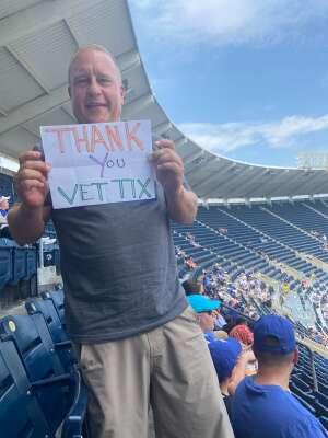 Russ attended Kansas City Royals vs. Cincinnati Reds - MLB on Jul 7th 2021 via VetTix