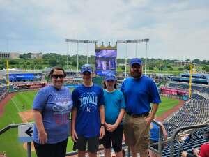 Craig attended Kansas City Royals vs. Cincinnati Reds - MLB on Jul 7th 2021 via VetTix