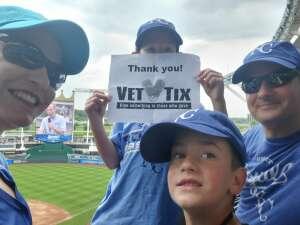 Chris attended Kansas City Royals vs. Cincinnati Reds - MLB on Jul 7th 2021 via VetTix