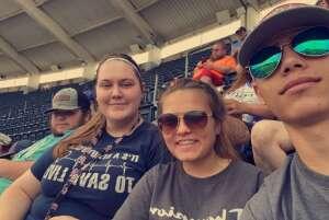 Game attended Kansas City Royals vs. Cincinnati Reds - MLB on Jul 7th 2021 via VetTix
