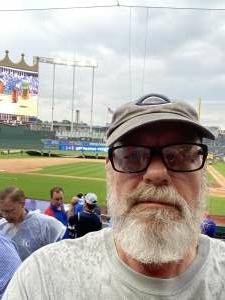 Bob Volski attended Kansas City Royals vs. Cincinnati Reds - MLB on Jul 7th 2021 via VetTix