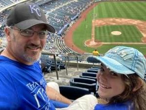 Adam A attended Kansas City Royals vs. Cincinnati Reds - MLB on Jul 7th 2021 via VetTix