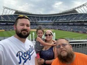 Kyle attended Kansas City Royals vs. Cincinnati Reds - MLB on Jul 7th 2021 via VetTix