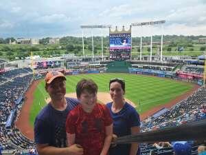 Melbug attended Kansas City Royals vs. Cincinnati Reds - MLB on Jul 7th 2021 via VetTix