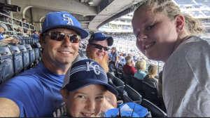 Jonathan Robbins attended Kansas City Royals vs. Cincinnati Reds - MLB on Jul 7th 2021 via VetTix