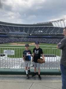 Marty Oakley  attended Kansas City Royals vs. Cincinnati Reds - MLB on Jul 7th 2021 via VetTix