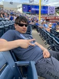 Cav Soldier attended Kansas City Royals vs. Cincinnati Reds - MLB on Jul 7th 2021 via VetTix