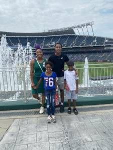 Antia C  attended Kansas City Royals vs. Cincinnati Reds - MLB on Jul 7th 2021 via VetTix