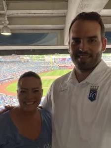Ed attended Kansas City Royals vs. Cincinnati Reds - MLB on Jul 7th 2021 via VetTix
