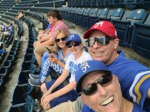 Royals vs Reds attended Kansas City Royals vs. Cincinnati Reds - MLB on Jul 7th 2021 via VetTix