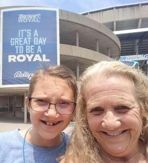 Kari attended Kansas City Royals vs. Cincinnati Reds - MLB on Jul 7th 2021 via VetTix
