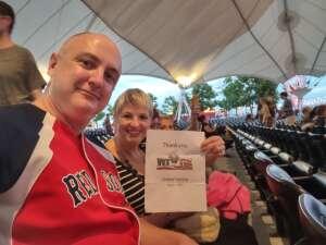 Glenn attended Lindsey Stirling - Artemis Tour North America 2021 on Aug 17th 2021 via VetTix