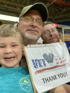 William  attended * TBT * the Basketball Tournament - 2021 West Virginia Regional: Session 3, Games 5 & 6 on Jul 18th 2021 via VetTix