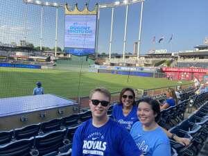 Selina attended Kansas City Royals vs Chicago White Sox - MLB on Jul 28th 2021 via VetTix