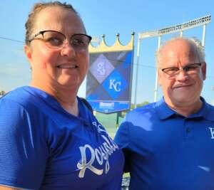 Sheree attended Kansas City Royals vs Chicago White Sox - MLB on Jul 28th 2021 via VetTix